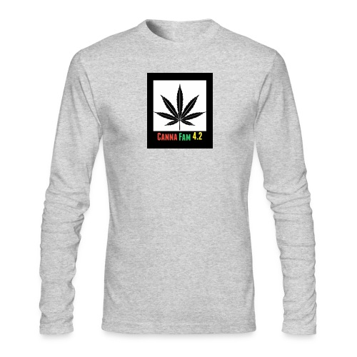 Canna Fams #2 design - Men's Long Sleeve T-Shirt by Next Level