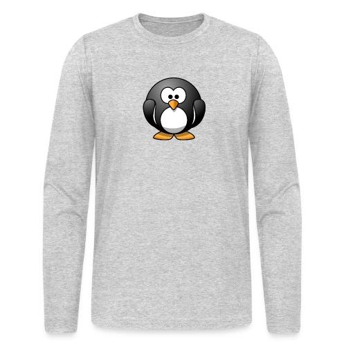 Funny Penguin T-Shirt - Men's Long Sleeve T-Shirt by Next Level