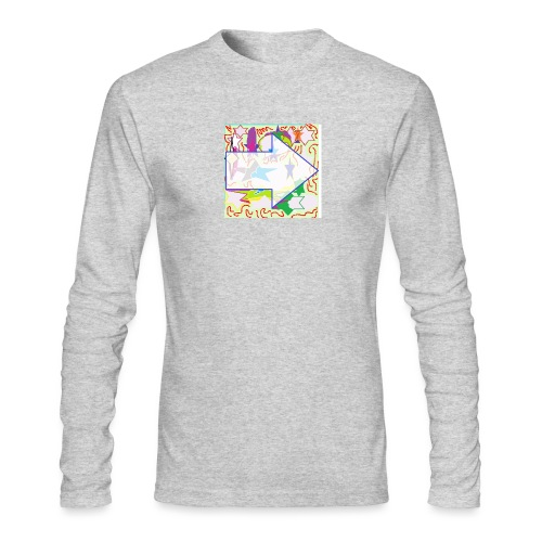 shapes - Men's Long Sleeve T-Shirt by Next Level