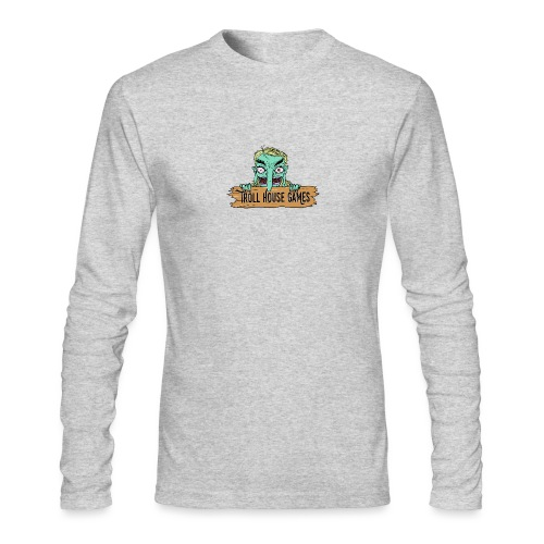 Troll House Games Cartoon Logo - Men's Long Sleeve T-Shirt by Next Level