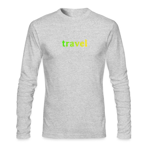 travel - Men's Long Sleeve T-Shirt by Next Level