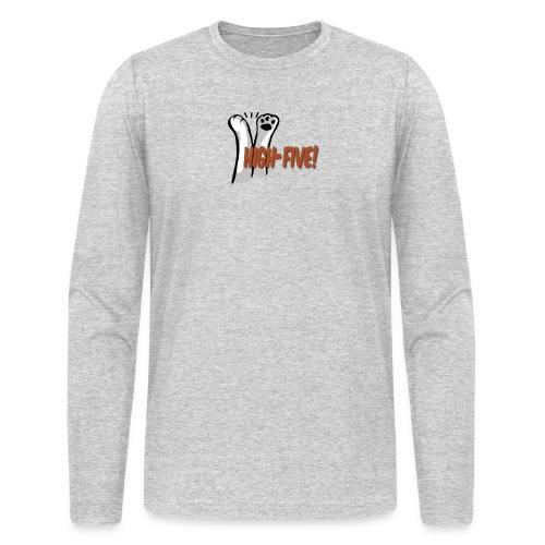 hi5 paws - Men's Long Sleeve T-Shirt by Next Level