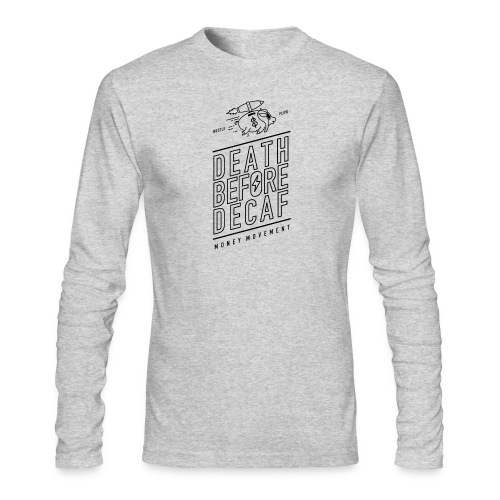 coffee cup - Men's Long Sleeve T-Shirt by Next Level