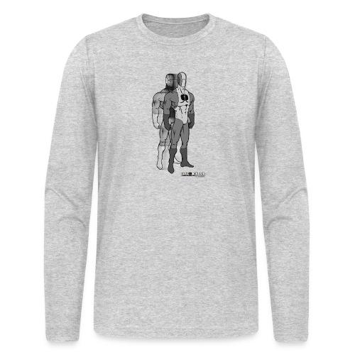 Superhero 9 - Men's Long Sleeve T-Shirt by Next Level