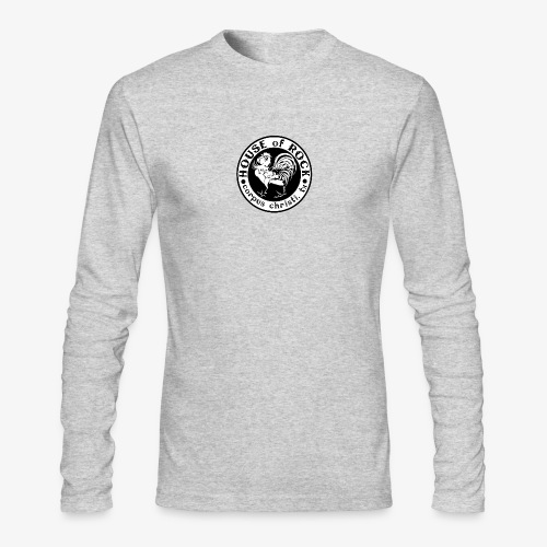 House of Rock round logo - Men's Long Sleeve T-Shirt by Next Level