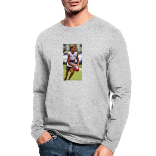 365EACEA EC51 48D2 9F18 E5A2528FFBBF - Men's Long Sleeve T-Shirt by Next Level