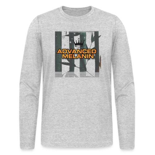 AM line. - Men's Long Sleeve T-Shirt by Next Level
