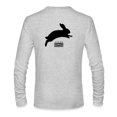 Rabbyt and Fence - Men's Long Sleeve T-Shirt by Next Level