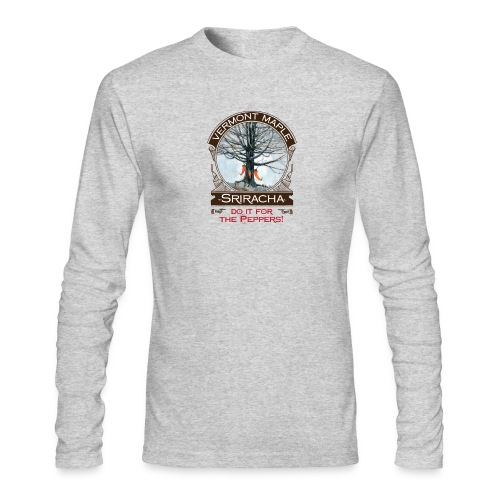 Vermont Maple Sriracha - Men's Long Sleeve T-Shirt by Next Level