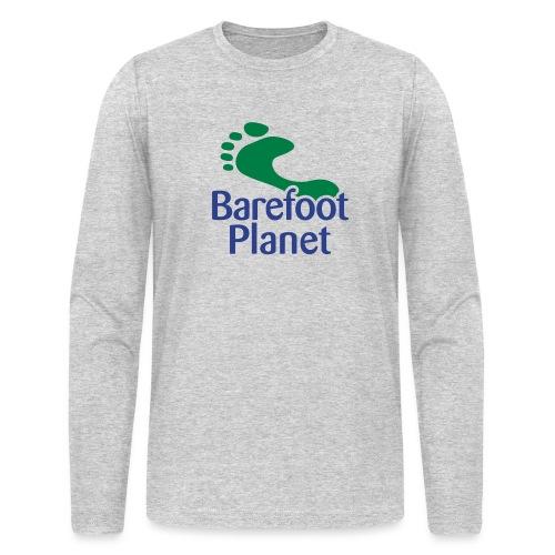 Get Out & Run Barefoot Women's T-Shirts - Men's Long Sleeve T-Shirt by Next Level