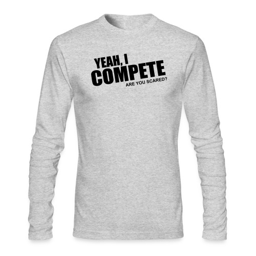 compete - Men's Long Sleeve T-Shirt by Next Level