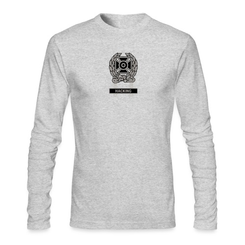 Expert Hacker Qualification Badge - Men's Long Sleeve T-Shirt by Next Level