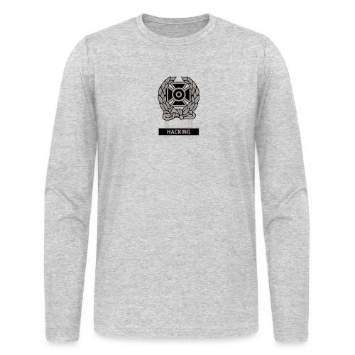 Expert Hacker Qualification Badge - Men's Long Sleeve T-Shirt by Next Level