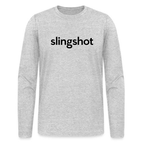 SlingShot Logo - Men's Long Sleeve T-Shirt by Next Level