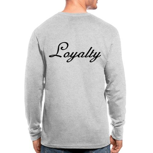 Loyalty Brand Items - Black Color - Men's Long Sleeve T-Shirt by Next Level