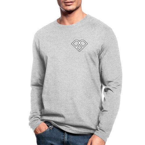Riggi & Piros Heart - Men's Long Sleeve T-Shirt by Next Level
