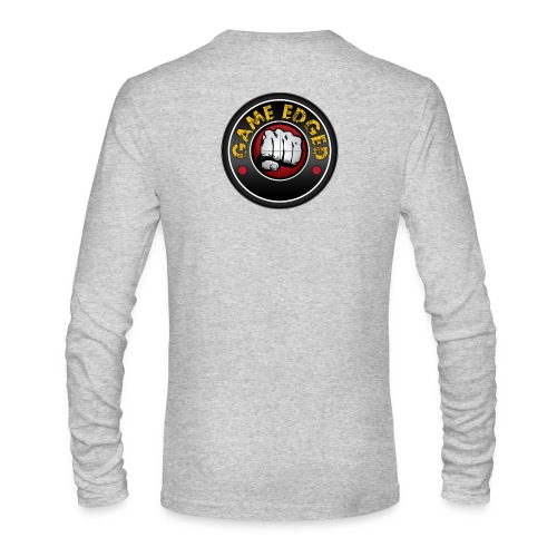 Men's Game Edged Logo Tshirt with So Be It On the - Men's Long Sleeve T-Shirt by Next Level