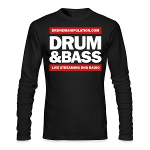 Drum and Bass - Men's Long Sleeve T-Shirt by Next Level