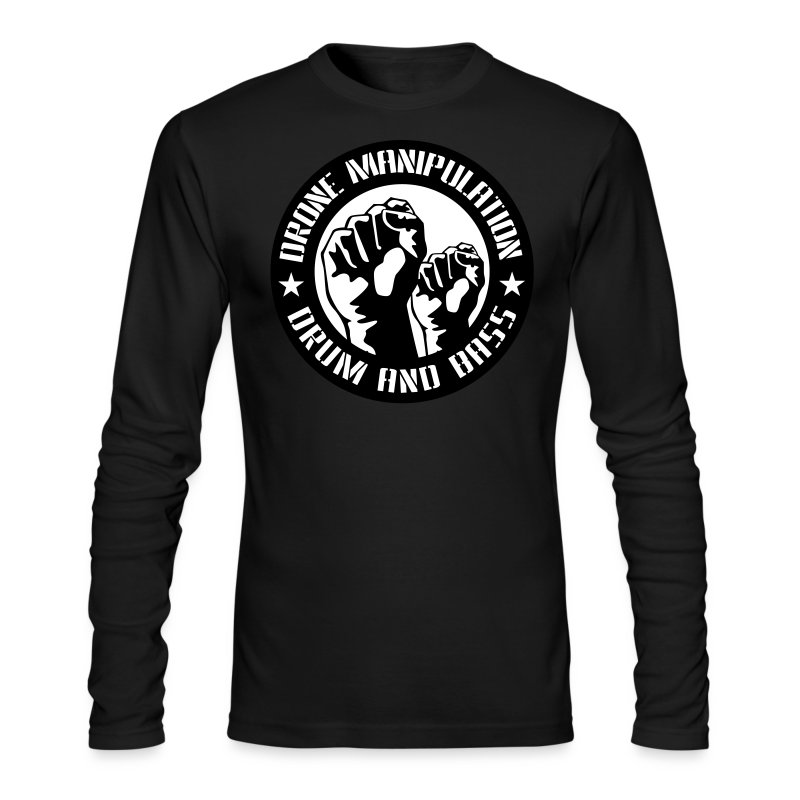Drone Manipulation FISTS UP - Men's Long Sleeve T-Shirt by Next Level