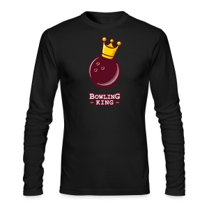 Bowling King - Men's Long Sleeve T-Shirt by Next Level