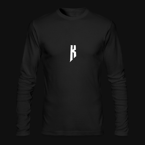 Knight White Logo - Men's Long Sleeve T-Shirt by Next Level