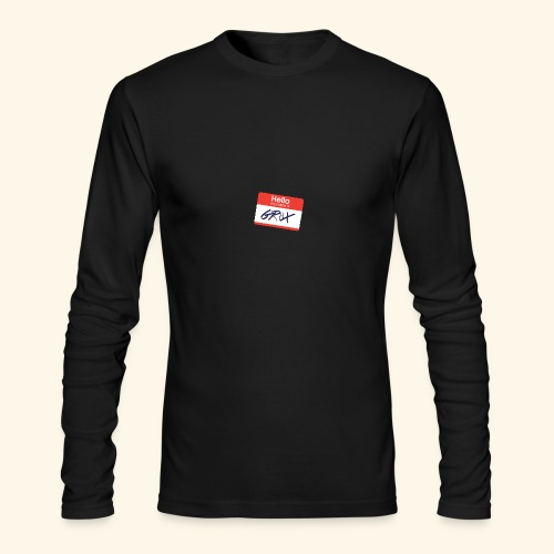 NameTag - Men's Long Sleeve T-Shirt by Next Level