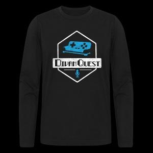 DivanQuest Logo (Badge) - Men's Long Sleeve T-Shirt by Next Level