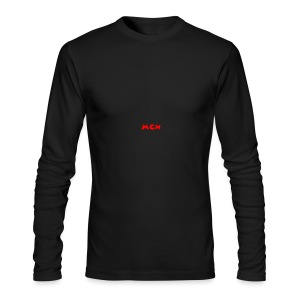 MCN Logo - Men's Long Sleeve T-Shirt by Next Level