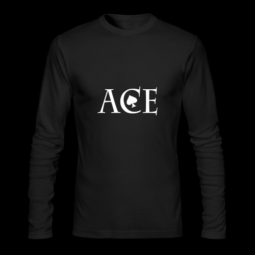 ACE - Men's Long Sleeve T-Shirt by Next Level