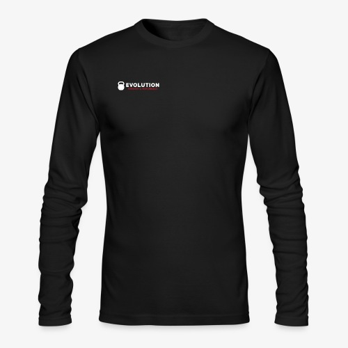 Evolution Strength & Performance - Men's Long Sleeve T-Shirt by Next Level