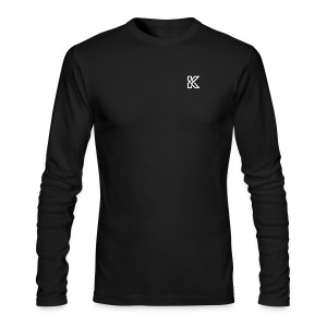 KikBackGamez Logo - Men's Long Sleeve T-Shirt by Next Level