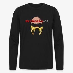ruthless mc color logo t shirt - Men's Long Sleeve T-Shirt by Next Level