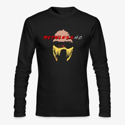 ruthless mc color logo t shirt - Men's Long Sleeve T-Shirt by Next Level