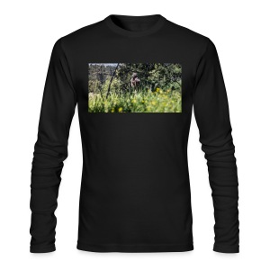 Baboon post - Men's Long Sleeve T-Shirt by Next Level