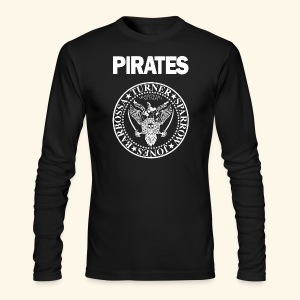 Punk Rock Pirates [heroes] - Men's Long Sleeve T-Shirt by Next Level