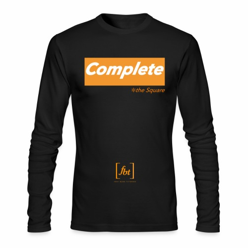 Complete the Square [fbt] - Men's Long Sleeve T-Shirt by Next Level