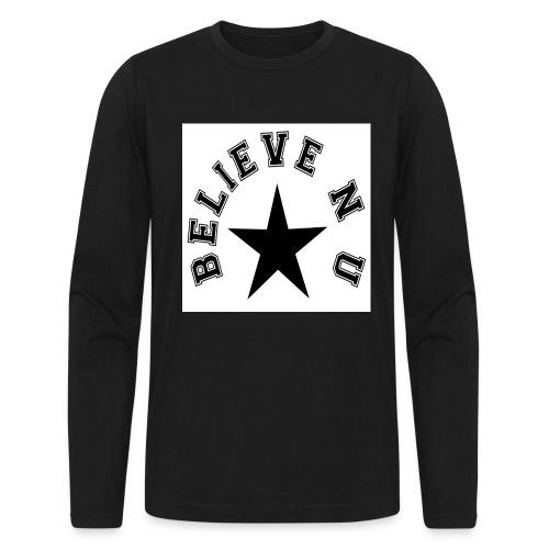 Believe N U - Men's Long Sleeve T-Shirt by Next Level