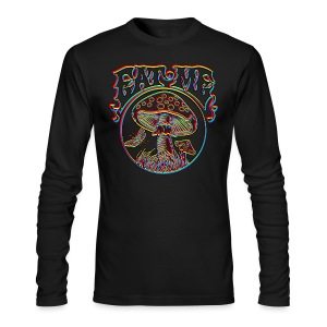 Eat Me Blur - Men's Long Sleeve T-Shirt by Next Level