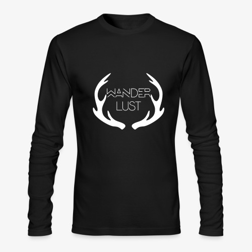 wanderlust long sleeve - Men's Long Sleeve T-Shirt by Next Level