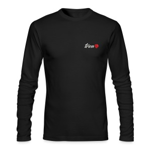 tshirt white vector - Men's Long Sleeve T-Shirt by Next Level