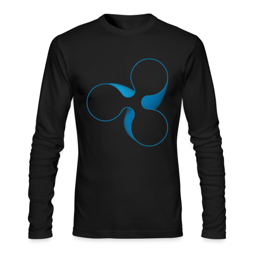 Ripple Spin - Men's Long Sleeve T-Shirt by Next Level