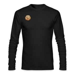 Chocolate Chip - Men's Long Sleeve T-Shirt by Next Level
