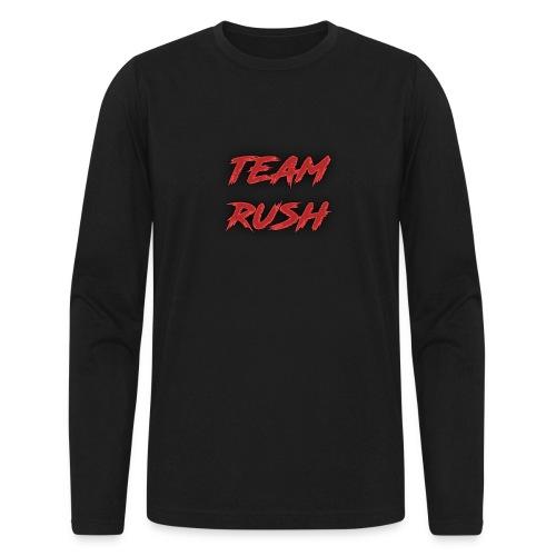 team rush shirt - Men's Long Sleeve T-Shirt by Next Level