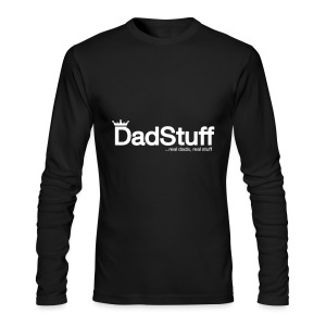 Dadstuff Full Horizontal - Men's Long Sleeve T-Shirt by Next Level
