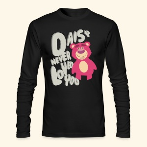 Daisy never loved you - Men's Long Sleeve T-Shirt by Next Level