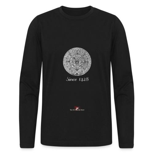 Since 1428 Aztec Design! - Men's Long Sleeve T-Shirt by Next Level
