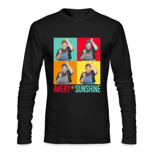 Hollywood Squares - Men's Long Sleeve T-Shirt by Next Level