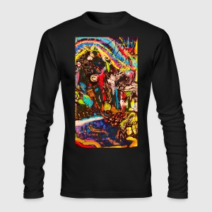 abstract - Men's Long Sleeve T-Shirt by Next Level
