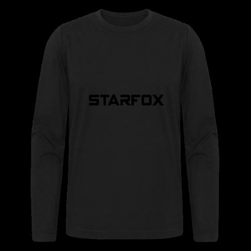 STARFOX Text - Men's Long Sleeve T-Shirt by Next Level