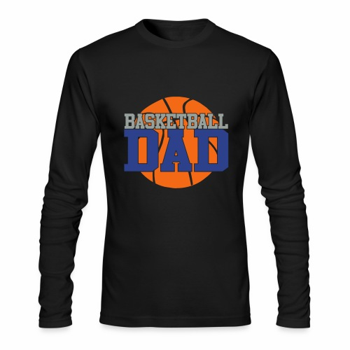 Basketball dad - Men's Long Sleeve T-Shirt by Next Level